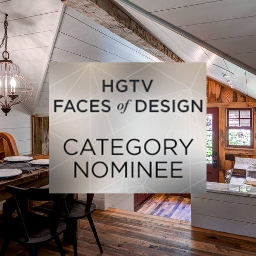 HGTV Faces of Design Category Nominee 2017
