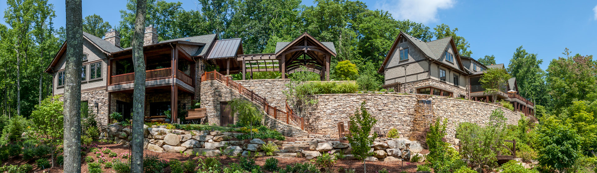 Custom Mountain Home Designed by ACM Design
