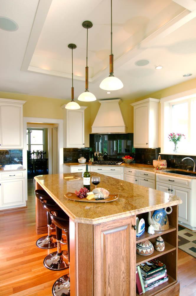 Modern craftsman house interior for Modern craftsman interiors