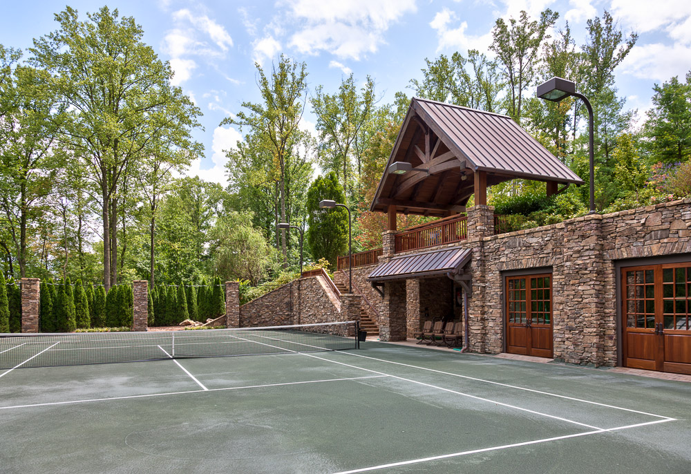 Modern rustic mountain resort acm design asheville for Modern rustic homes for sale