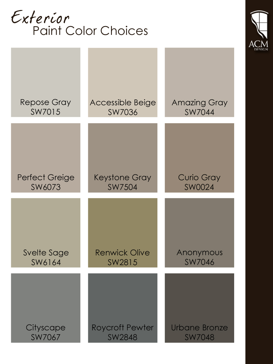 Exterior paint color ideas acm design asheville for Design exterior paint colors