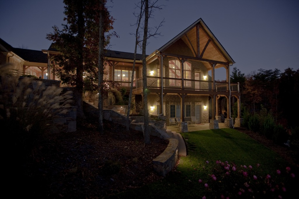 Building in the mountains of western north carolina acm for North carolina mountain house plans