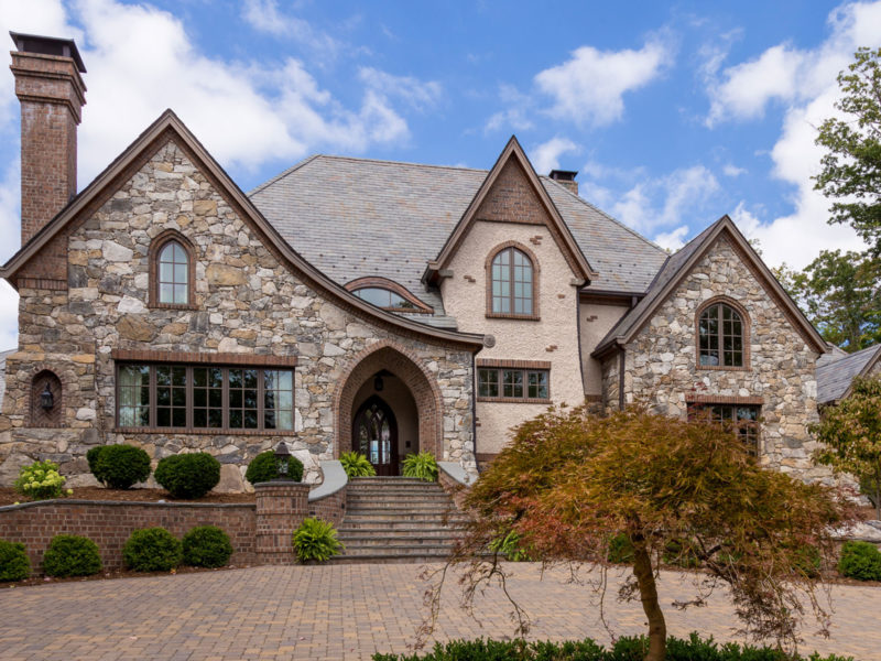 Biltmore Forest Romantic customed designed estate home