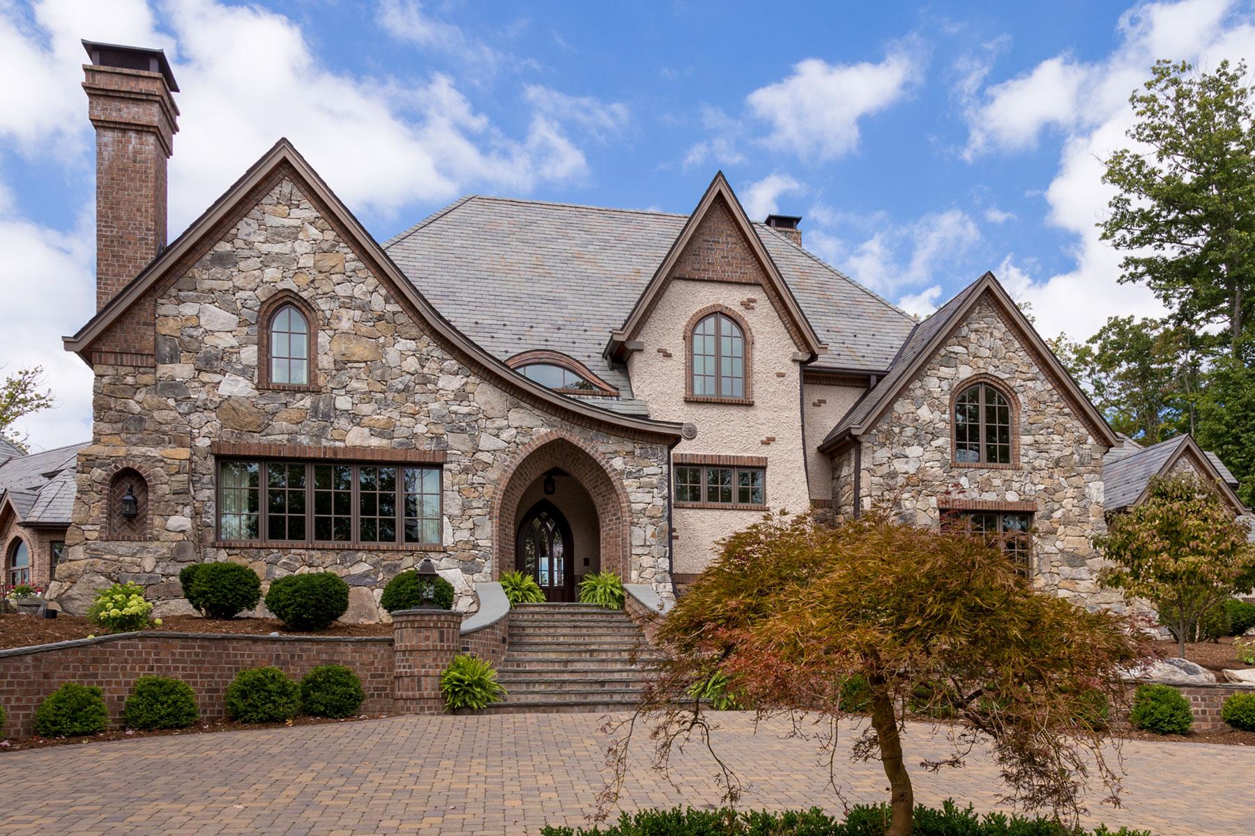 Biltmore Forest Romantic customed designed estate home