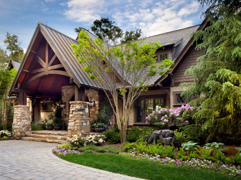Estate Home Luxury Renovation near Asheville by ACM Design Architecture & Interiors