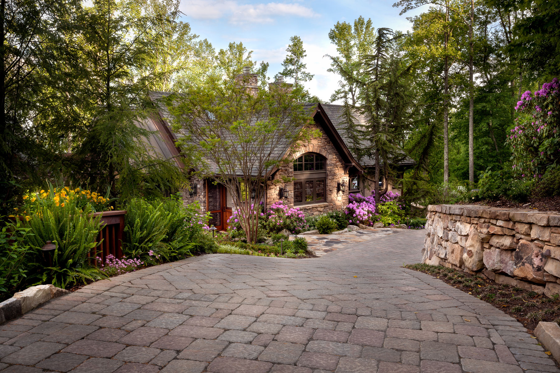 New Guest House added to mountain estate home in Asheville, NC