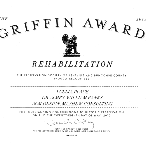 Griffin Award - 2015