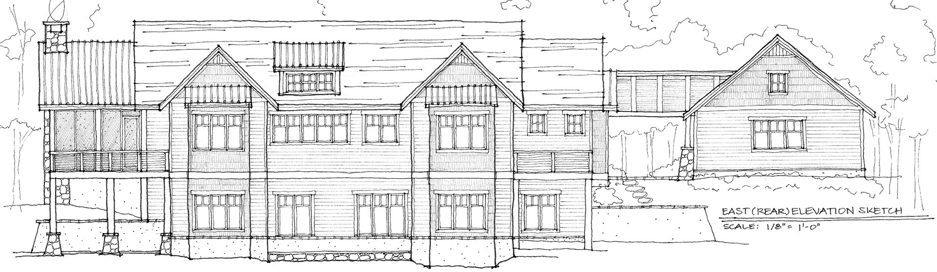 Our Work Elevation Sketch
