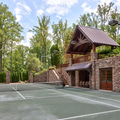 Modern Rustic Mountain Resort