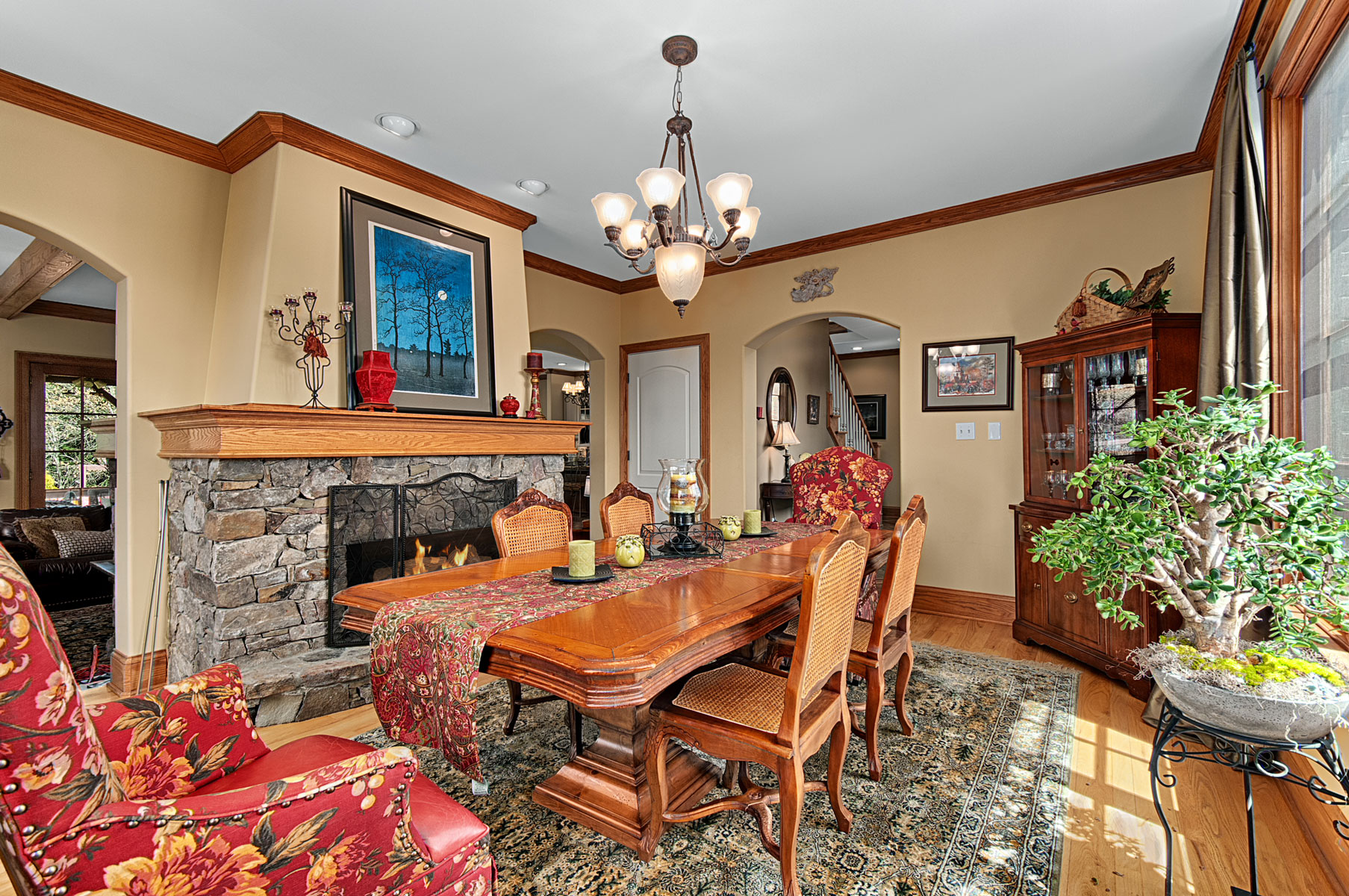 dining-room-rustic-mountain-fireplace