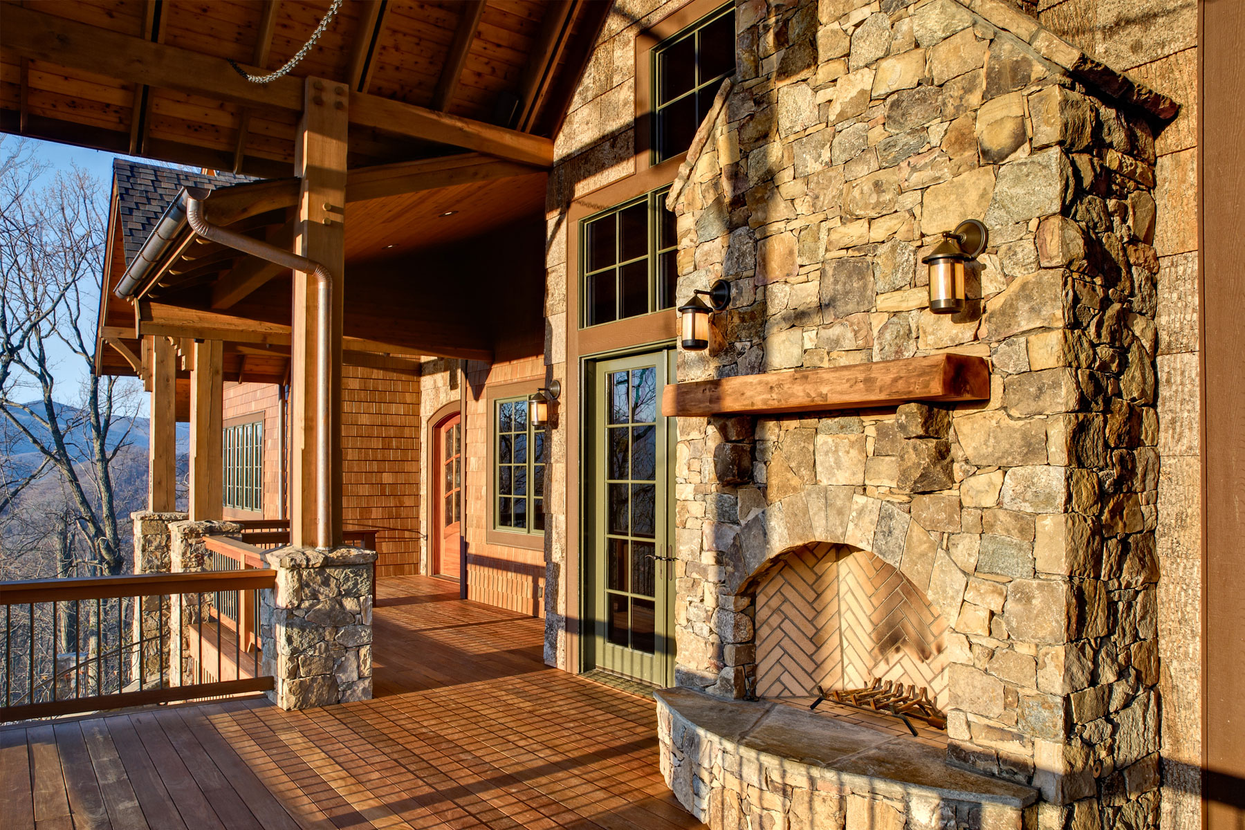 Custom Designed Mountain Lodge Home