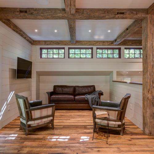 Rustic Modern Carriage House