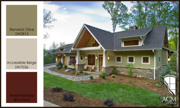 Exterior paint color ideas acm design asheville architects interior designers - Behr exterior paint ideas property ...