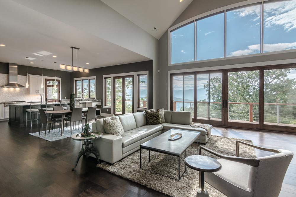 East Asheville Modern Style Craftsman Home