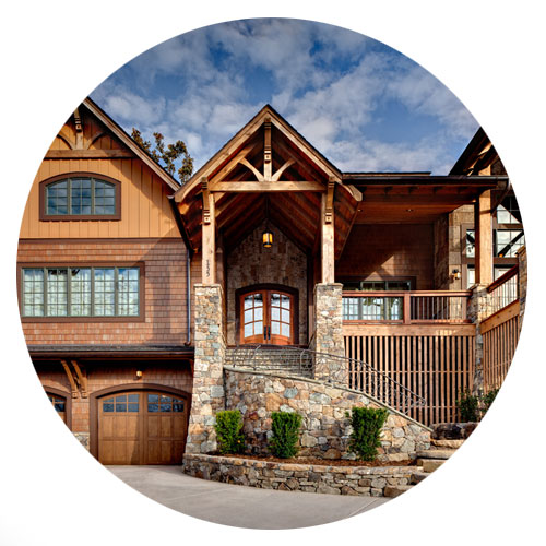 Mountain Home Architects to design custom mountain home.