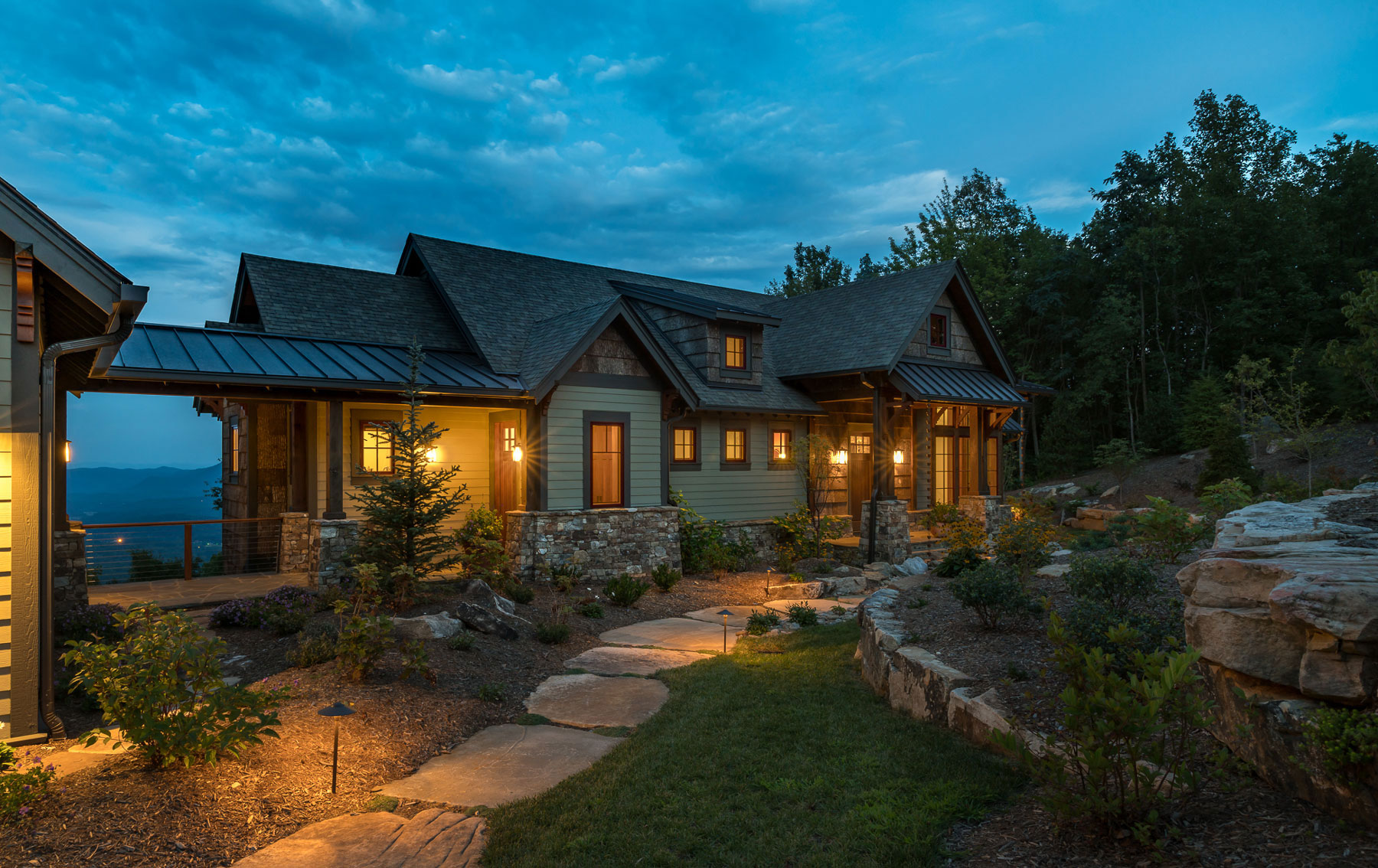 Portfolio of Custom Mountain Homes and Renovations, Outdoor Living Designs, and Interior Design Services