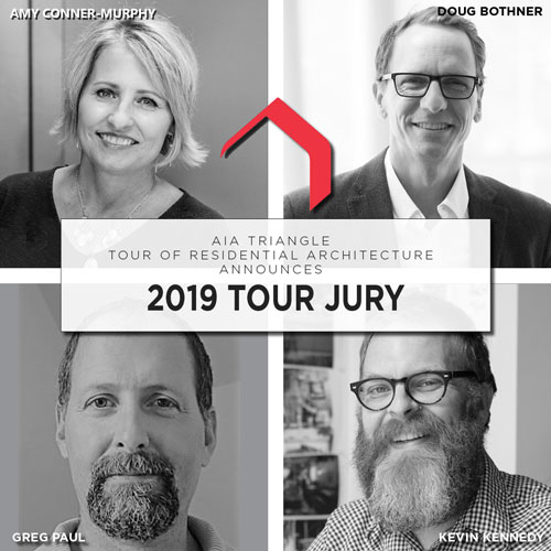 Jury Panel for 10th Annual AIA Triangle Tour of Residential Architecture